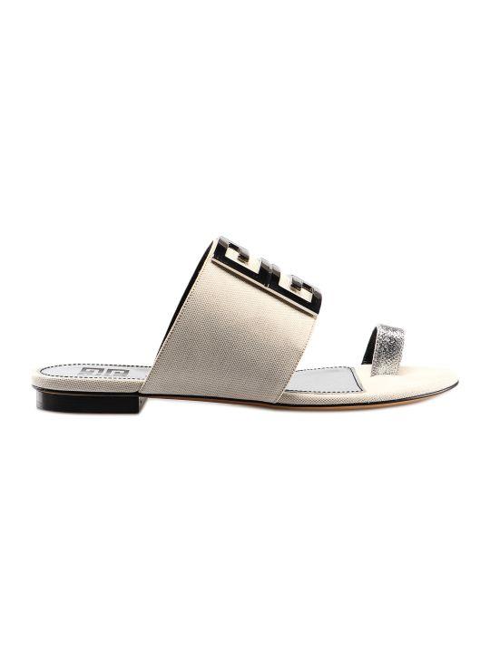 Givenchy 4g Flat Sandal