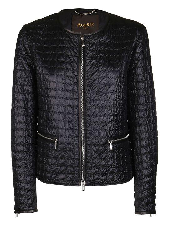 Moorer Black Anastasia Jacket