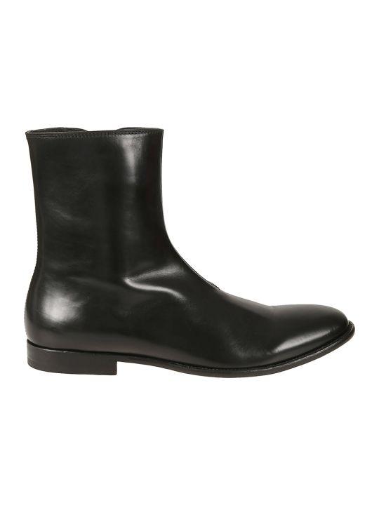 Alexander McQueen Side Zip Ankle Boots