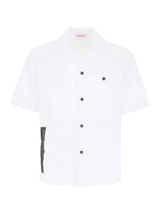 Palm Angels Logo Bowling Shirt