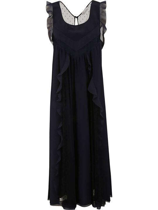 RED Valentino Ruffled Dress