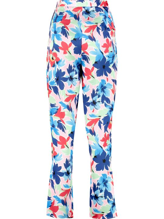 Boutique Moschino Printed High-rise Trousers