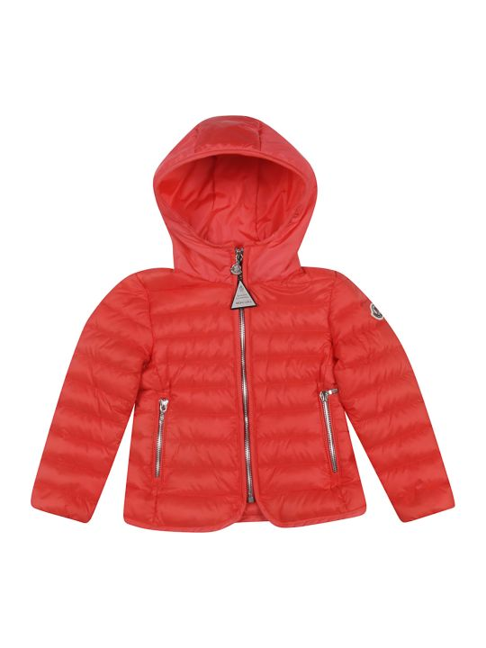 Moncler Kids Zip-up Padded Coat