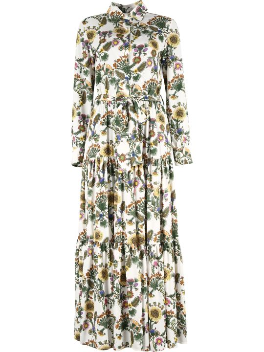 La DoubleJ Bellini Printed Maxi Dress