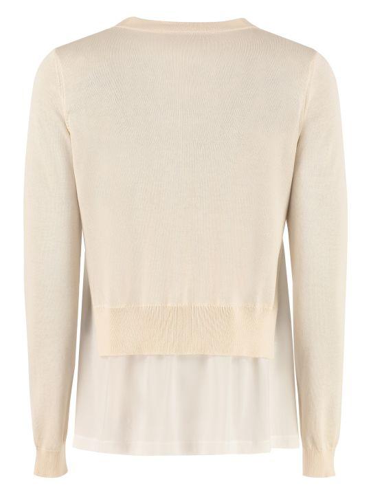 Fabiana Filippi Fine Knit Crew-neck Pullover