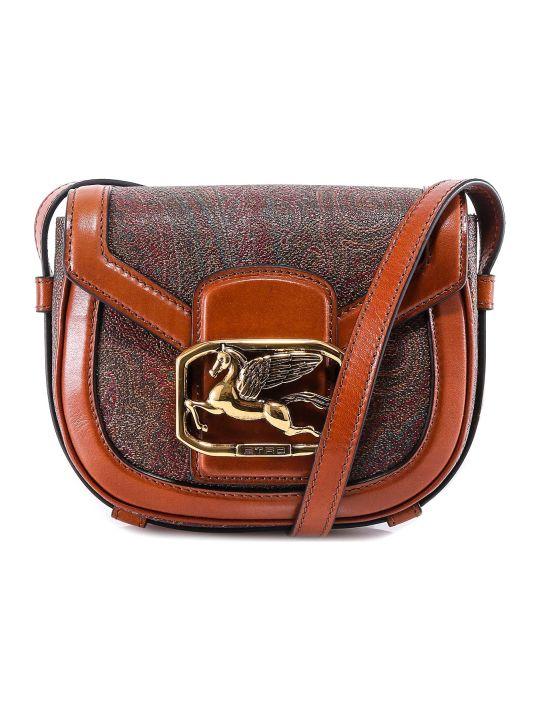 Etro Pegaso Paisley Shoulder Bag