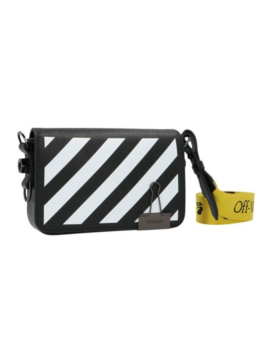 Off-White 'diag Mini Flap' Bag