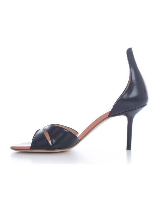 Francesco Russo Pumps Kid Leather 75 Heel