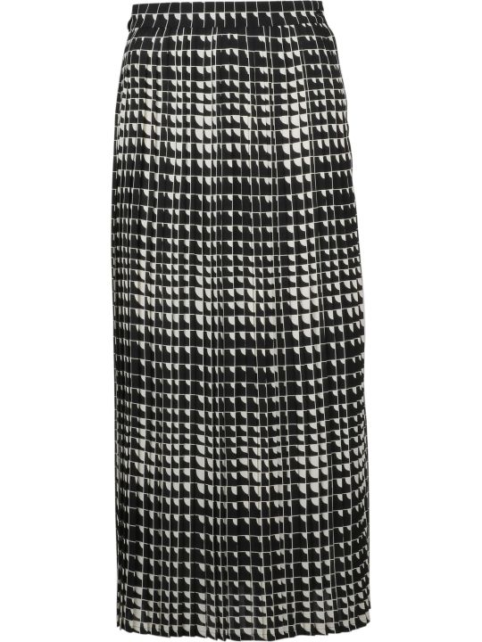 Celine Pleated Long Skirt