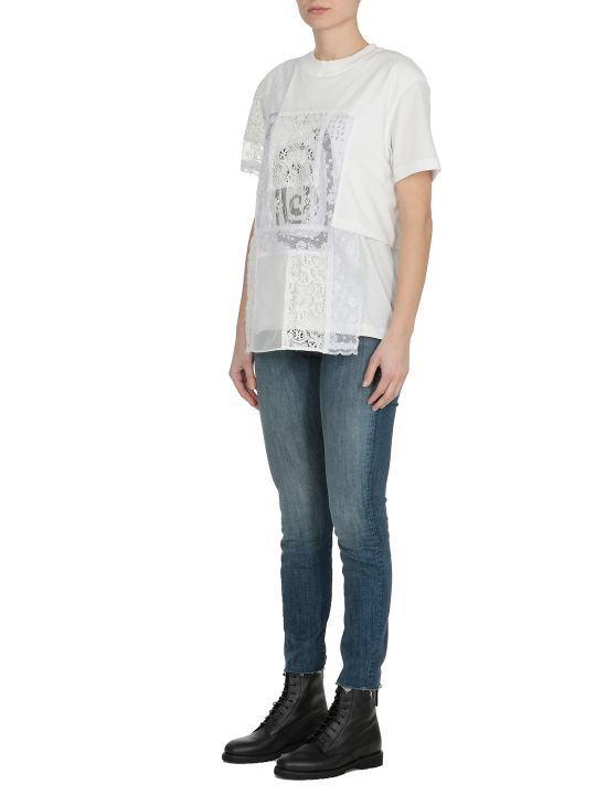 McQ Alexander McQueen T-shirt Con Pizzo