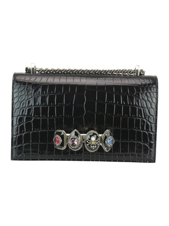 Alexander McQueen Jewelled Satchel Spider Bag