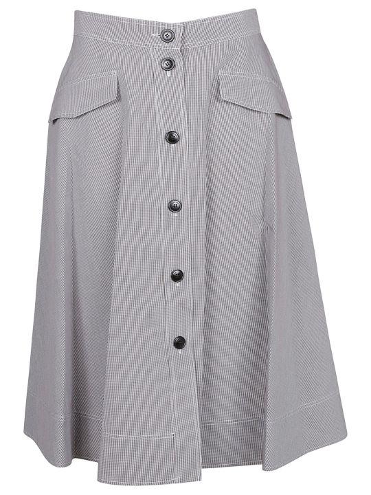 Calvin Klein Pattern Skirt