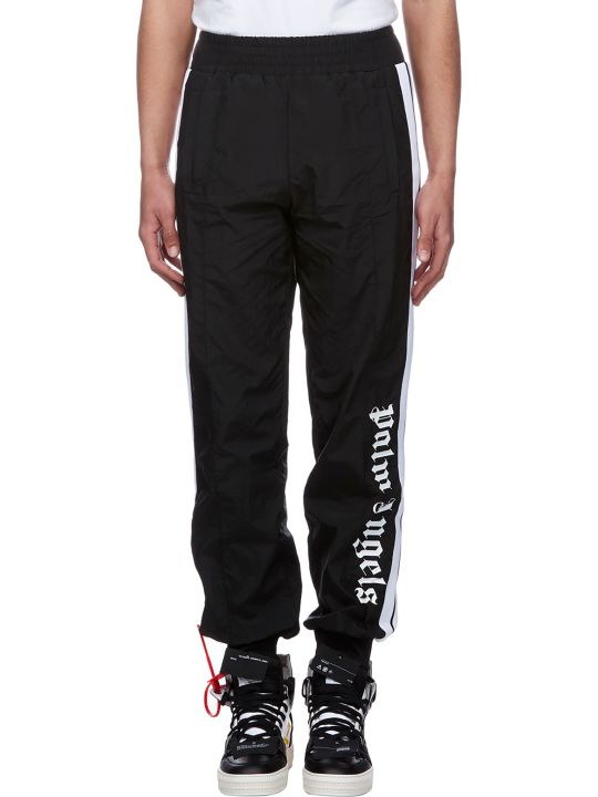 Palm Angels Logo Print Track Pants