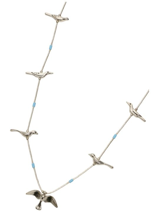 Jessie Western Silver Bird Power Animal Necklace