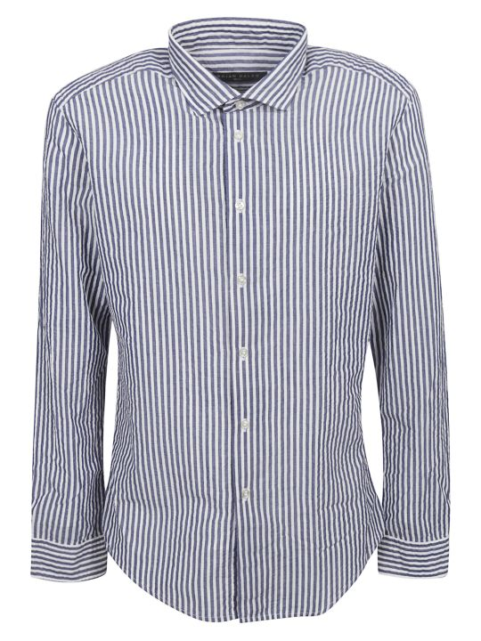 Brian Dales Striped Pattern Shirt