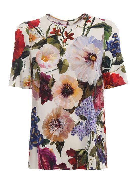 Dolce & Gabbana Dolce Gabbana Floral Print Blouse