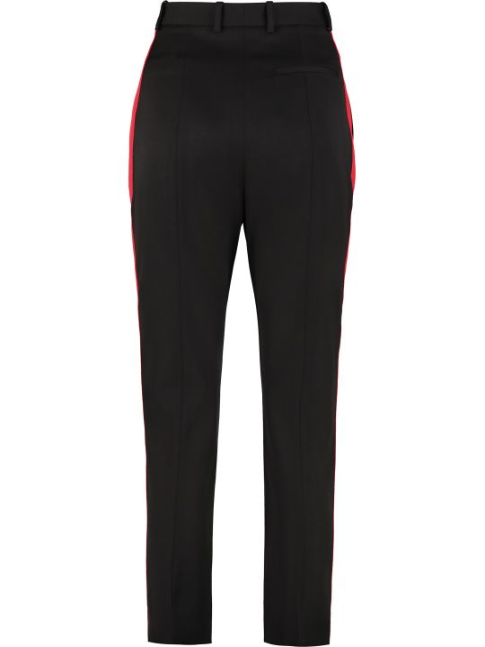 Alexander McQueen Virgin Wool Trousers
