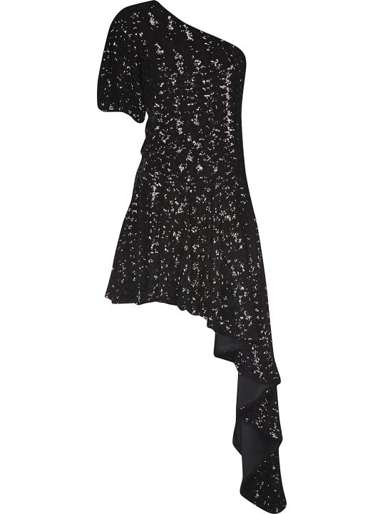 Giuseppe di Morabito Asymmetric One Sleeve Dress