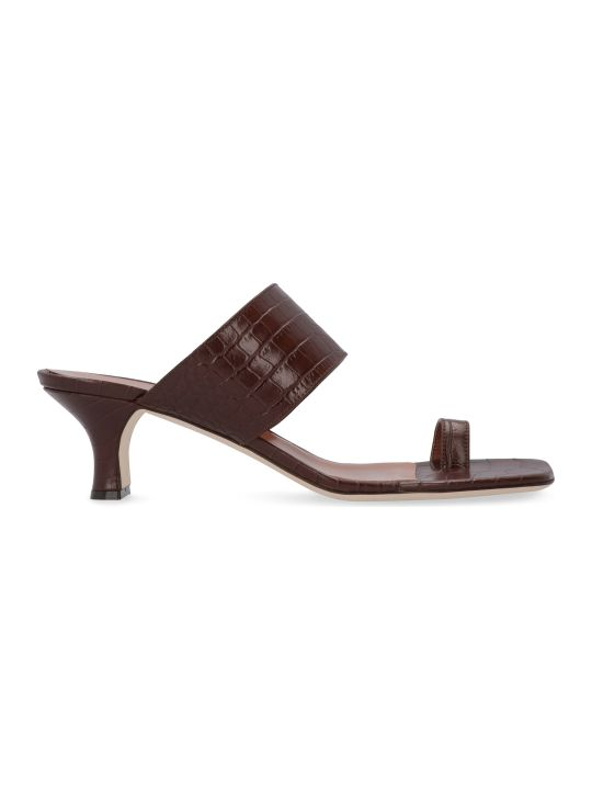Paris Texas Leather Thong-sandals