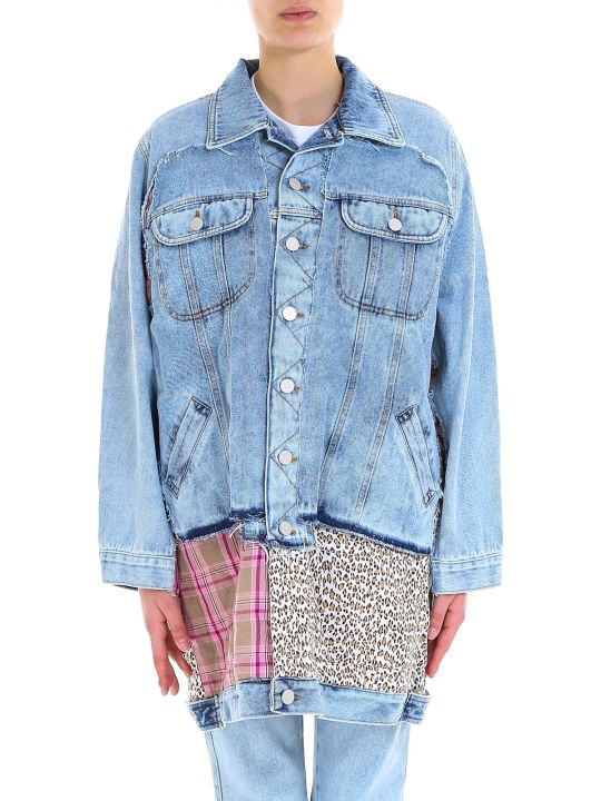 Natasha Zinko Padded Oversize Denim Jacket