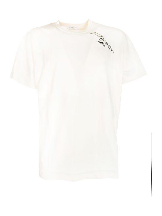 ih nom uh nit Logo Signature Print T-shirt