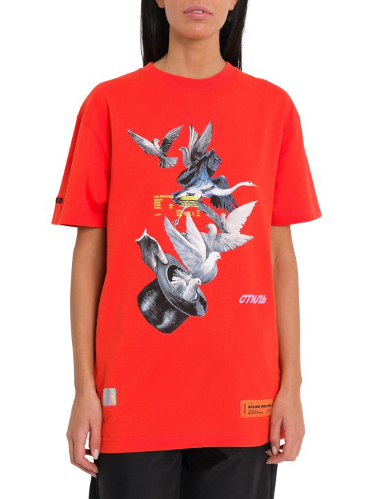 HERON PRESTON Graphic-print Tee