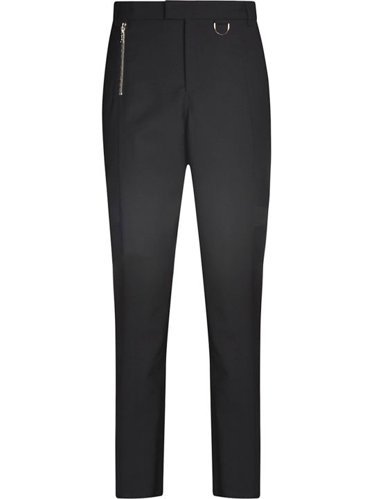 Les Hommes Cuts Detail Slim Fit Trousers