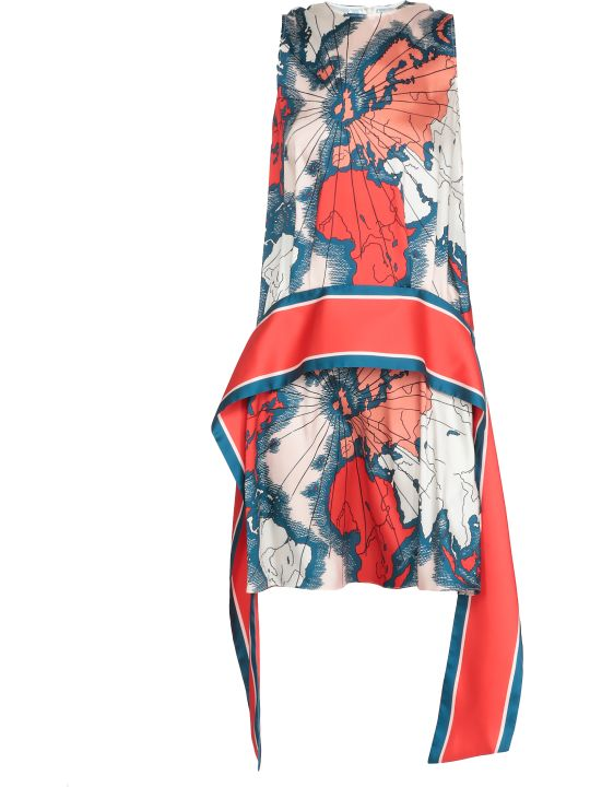 Victoria Victoria Beckham Printed Dress