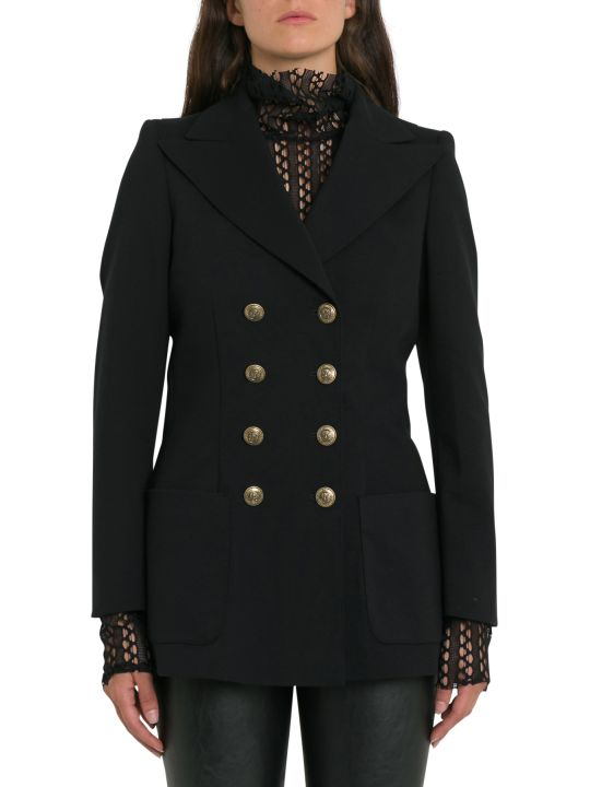 Philosophy di Lorenzo Serafini Double-breasted Blazer With Gold-tone Buttons