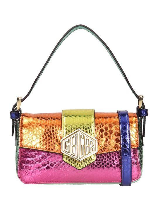 Kurt Geiger Geiger 20 Shoulder Bag In Multicolor Leather