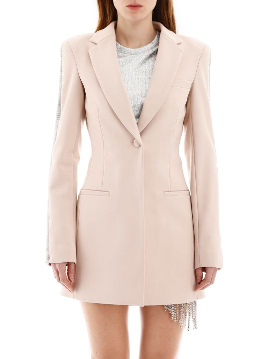 AREA Blazer With Crystals
