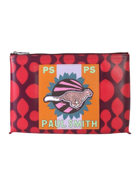 PS by Paul Smith Cheetah Print Pouch