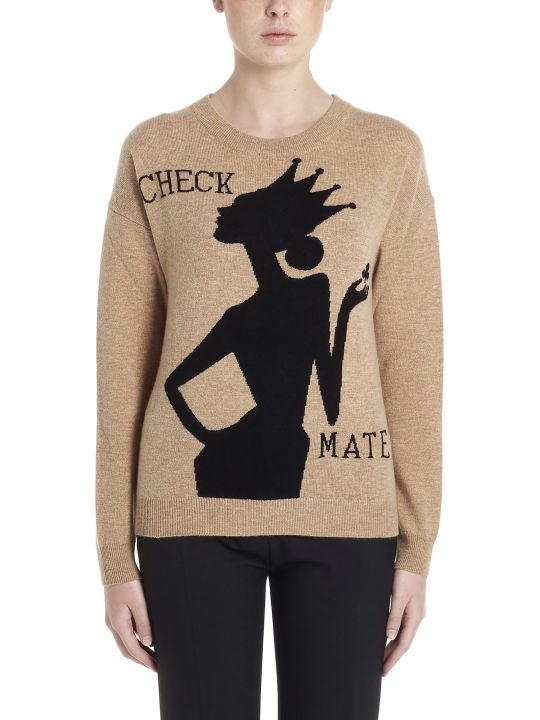 Boutique Moschino 'check Mate' Sweater