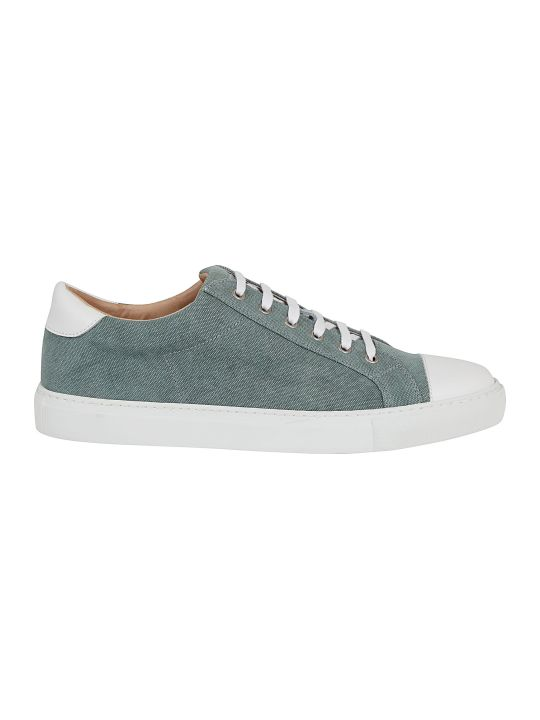 Eleventy Contrast Sneakers