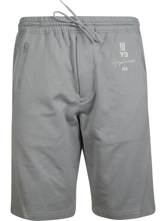 Y-3 Logo Print Shorts