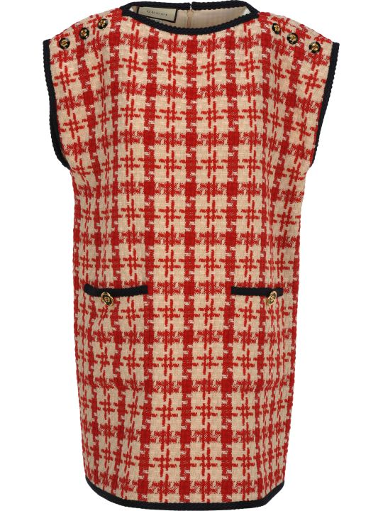 Gucci Tweed Dress