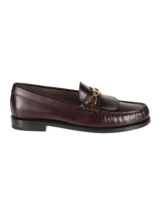 Celine Fringed Loafers