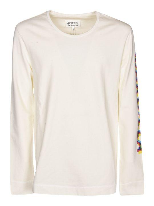 Maison Margiela Logo Sleeve Sweater