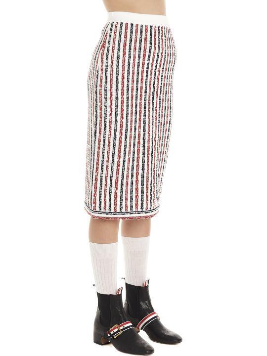 Thom Browne 'wide University' Skirt