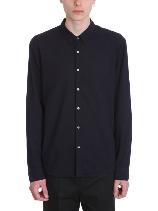 James Perse Blue Cotton Shirt