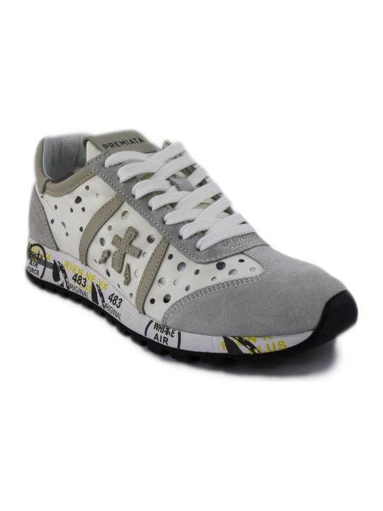 Premiata White Lucy Sneaker