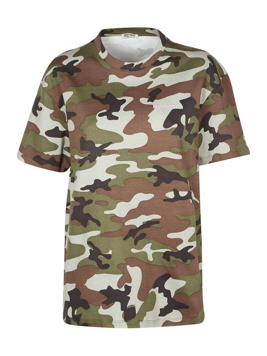 Miu Miu Miumiu T-shirt