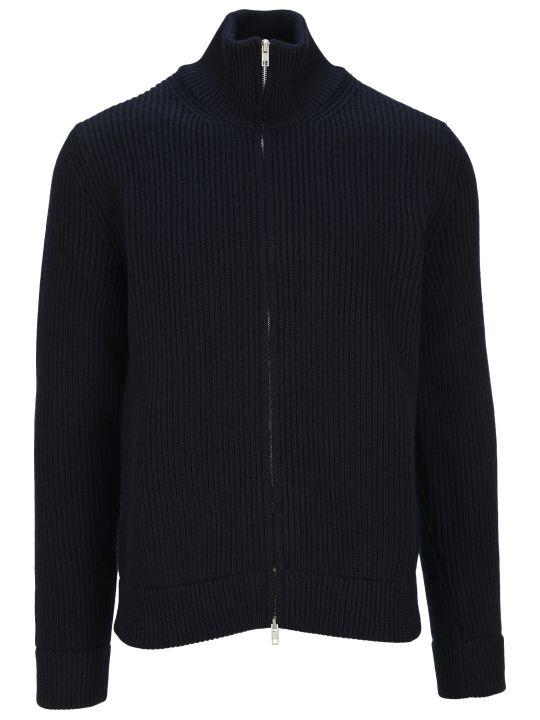 Maison Margiela Martin Margiela Zip-up Ribbed Sweater