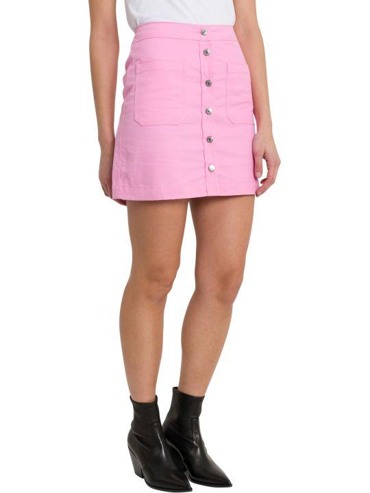 Calvin Klein Jeans Buttoned Min Skirt