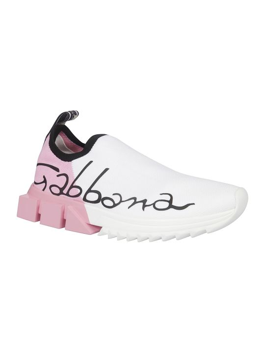 Dolce & Gabbana Logo Slip-on Sneakers