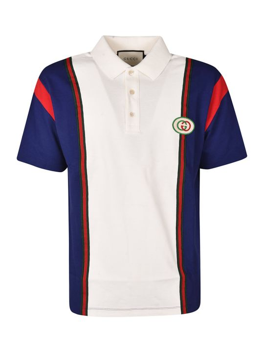 Gucci G Patch Polo Shirt