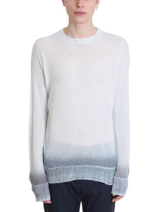 Maison Flaneur Light Blue Cashmere Sweater