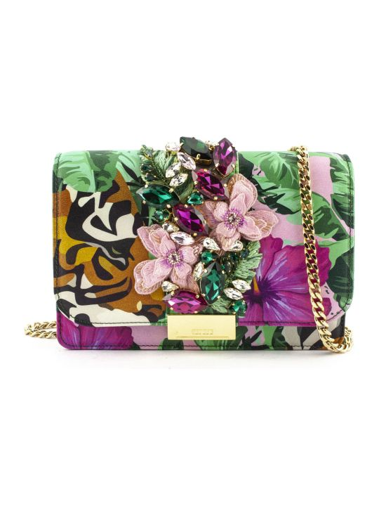 Gedebe Clutch Cliky Tiger Flower