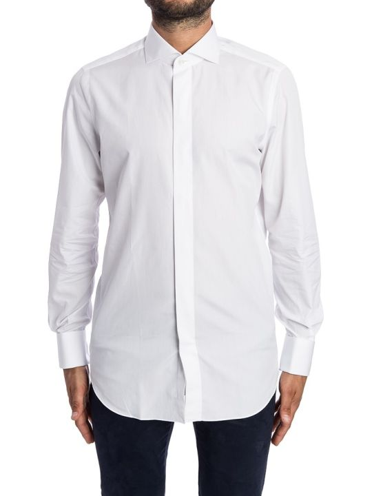Finamore Shirt Cotton Double Cuff
