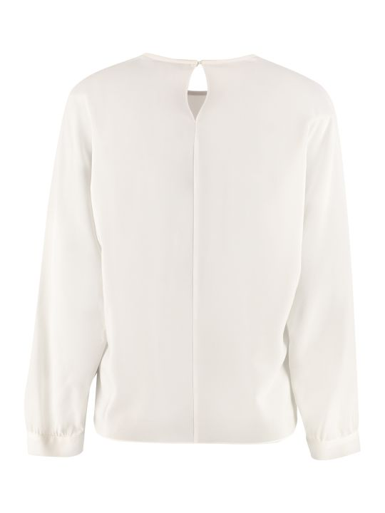 Max Mara Studio Boris Silk Blouse